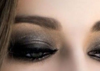 Le smoky eye : maquillage charbonneux
