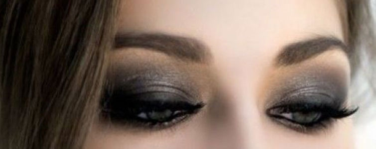 smoky eye maquillage charbonneux avec le crayon kh l soin esthetique. Black Bedroom Furniture Sets. Home Design Ideas