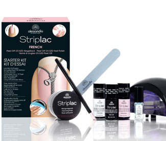 Striplac Kit de démarrage Nail Art