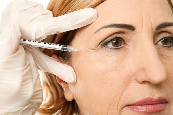 Botox pour le contour des yeux